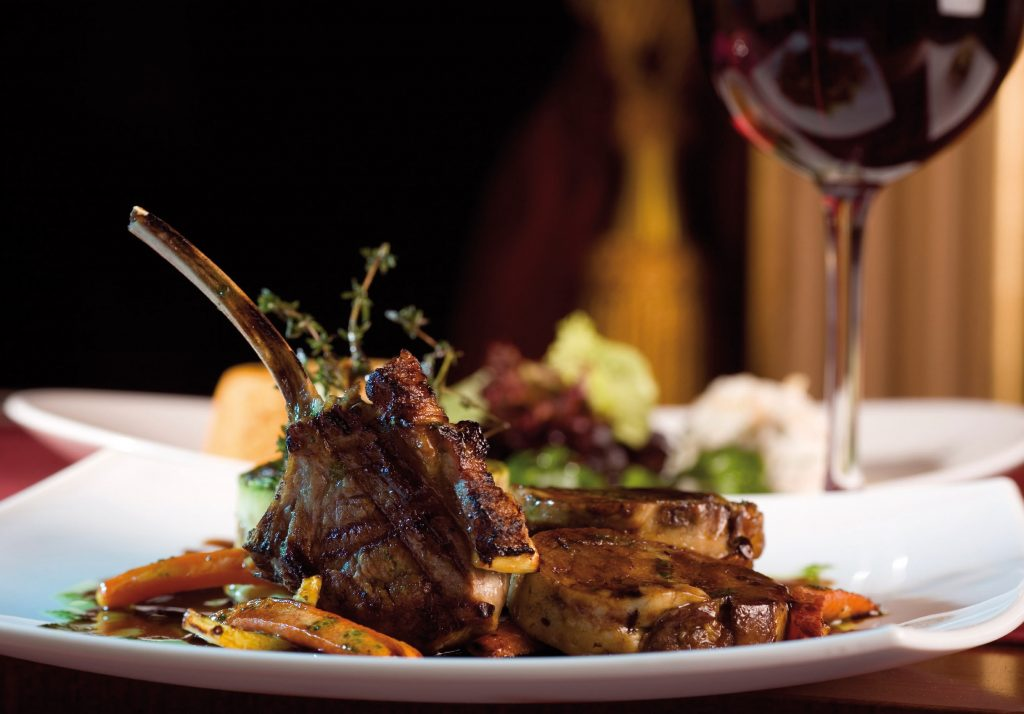 Lamb and Rioja Wine